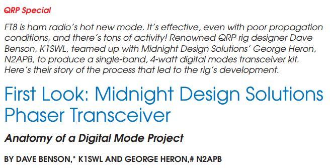 Phaser Digital Mode Transceiver